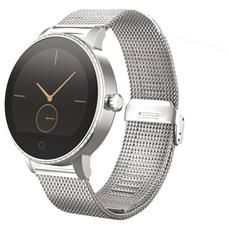 "Smartwatch TechWatch L1 Display 1.22"" Bluetooth Argento – Italia"