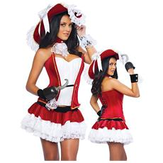 Costume Pirata Rosso - Taglia Unica - Xy1161