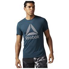 Tshirt Reebok Crossfit Bk6312 Wor Supremium Blu