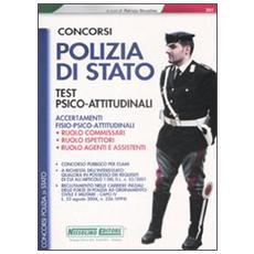 Concorsi polizia di Stato. Test psicoattitudinali