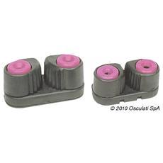 Strozzascotte carbonio / lega 3/8 mm