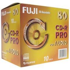 Cd-r Audio 80 Pro Jcase Conf 10pz