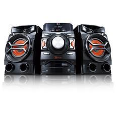 LG - Sistema Mini Hi-Fi CM4350 Lettore CD Supporto MP3...