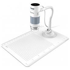 Microscopio Digitale Flex con Connessione USB Zoom 60x-250x Bianco