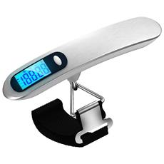 Pesa Valigie Da Viaggio Digitale 50kg 10g Bilancia Lcd