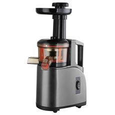 Green Juice Estrattore di Succo a Freddo Potenza 150 Watt Colore Inox / Nero