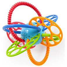 FlexiLoops Teething Toy Multicolore massaggiagengive
