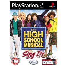 PS2 - High School Musical: Sing It!