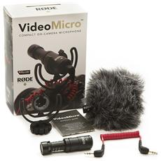 Microfono per Camera Digitale Grigia 21 x 80 mm 400700005-EU