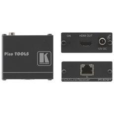 Accessori Ricevitore audio HDMI Nera 5.2 x 6.2 x 2.4 cm PT-572+