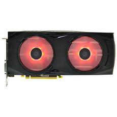 Ventola per schede video Radeon RX Led Rosso