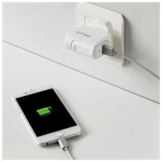 Fast Usb Wall-charger Uk 2.4a 12w