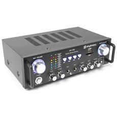 Amplificatore karaoke hifi home con usb-sd + ingressi microfonici ed echo