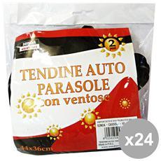 Set 24 Parasole Tendine Auto Casre4927 Accessori Auto E Moto