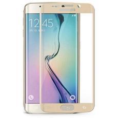 Pellicola Vetro Temperato Curvo Schermo Samsung Galaxy S6 Edge G925 Gold