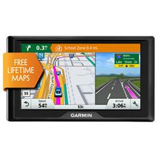 """Drive 60LM Display 6"""" +Slot MicroSD Mappe Europa 45 paesi con aggiornamento gratis a vita, Autovelox"""