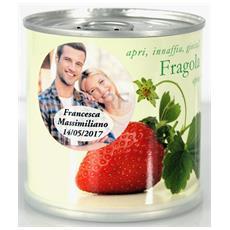 Bomboniere Matrimonio Naturali Personalizzate Fragola Fiori In Lattina Macflowers