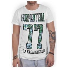 T-shirt Uomo Formentera 77 S Bianco