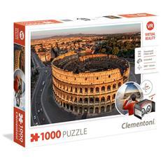 Puzzle 1000 Pezzi Virtual Reality Rome Clementoni 39403