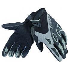 Raptors Gloves Nero / grigio Guanti Mtb Taglia Xxl