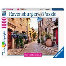 Puzzle Mediterranean Places, France 1000 pz 70 x 50 cm 14975
