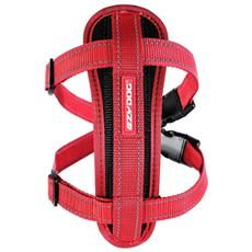 Pettorina Chest Plate Rosso XL