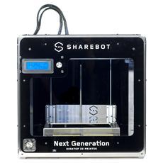 NG – Next Generation Stampante 3D Singolo Estrusore Nero