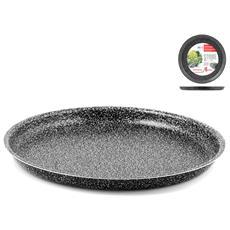Teglia per Pizza Antiaderente Diametro 36 cm- Linea Stone