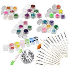Kit nail art decorazione unghie e micro pittura