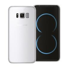 Cover gel protection+ white samsung galaxy s8 plus