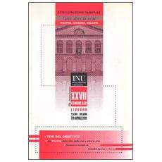 Città oltre la crisi. Risorse, governo, welfare. 27° Congresso nazionale Istituto nazionale di urbanistica (Livorno, 7-9 aprile 2011) . Con CD-ROM