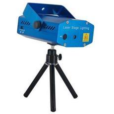 effetto luce proiettore mini laser multicolore per party de deejay disco