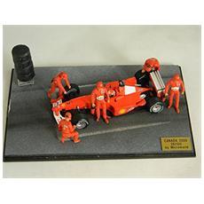 2k06 Diorama Canada 2000 6 Mechanics + Modellino