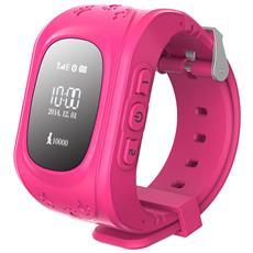 Smartwatch Watch II G10 per Bambini con Bluetooth e GPS Rosa - Europa