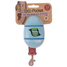 Portasacchetti BecoPocket con ricambi Blu