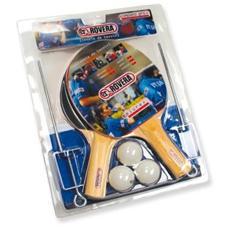 Kit Pro con 2 racchette 1 sostegno a rete e 3 palline