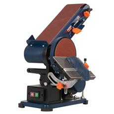 Levigatrice Inclinabile A Nastro E Disco 375W - Dimensioni Nastro 915x100 Mm - Diametro Disco 150 Mm