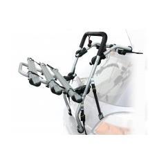 Portabici posteriore universale Padova in alluminio 3 bici