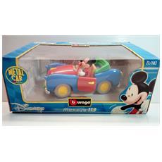 Disney Cartoon 1:18 Classic Mickey Mouse Modellino Auto