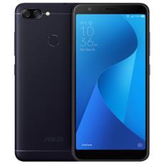 """Zenfone Max Plus Nero 64 GB 4G / LTE Dual Sim Display 5.7"""" Full HD Slot Micro SD Fotocamera 16 Mpx Android Italia"""
