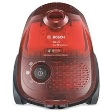 BGL2B1108 Aspirapolvere a Traino Senza Sacco Potenza 700 Watt Colore Rosso RICONDIZIONATO