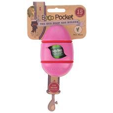 Portasacchetti BecoPocket con ricambi Rosa