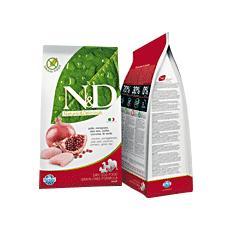 Cibo per Cani N&D Grain Free Adult Mini Pollo e Melograno 2,5 kg