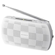 Radio Portatile con Ingresso Audio per Ascoltare Musica da Lettore MP3 Bianco SRF18W. CE7