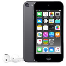 """iPod Touch 64GB Display Retina 4"""" IPS Multi-Touch Fotocamera 8Mpx con AirPlay iCloud Bluetooth / Wi-Fi Colore Grigio Siderale"""