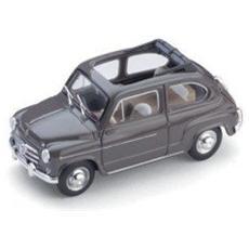 Bm0317-02 Fiat 600 D Berlina 1960 Trasformabile Aperta Beige 1:43 Modellino