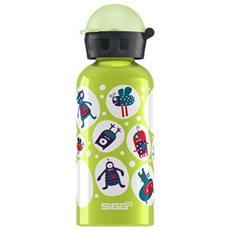 Bottiglia Bambino Monster Green 0,4 Lt Unica Fantasia