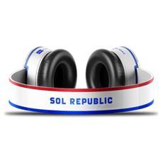 1291-US, Stereofonico, Bianco, Digitale, Cablato, Multi-key, Play / pause, Volume +, Volume -, Sovraurale