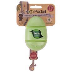 Portasacchetti BecoPocket con ricambi Verde