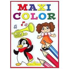 Maxi color. Super album da colorare